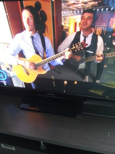 Rock My Reception making a T.V appearance on '4 Weddings'